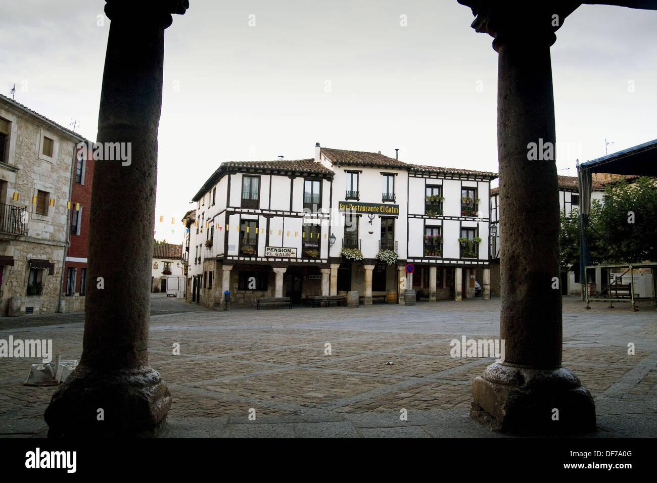 Covarrubias province Burgos - Stock Image
