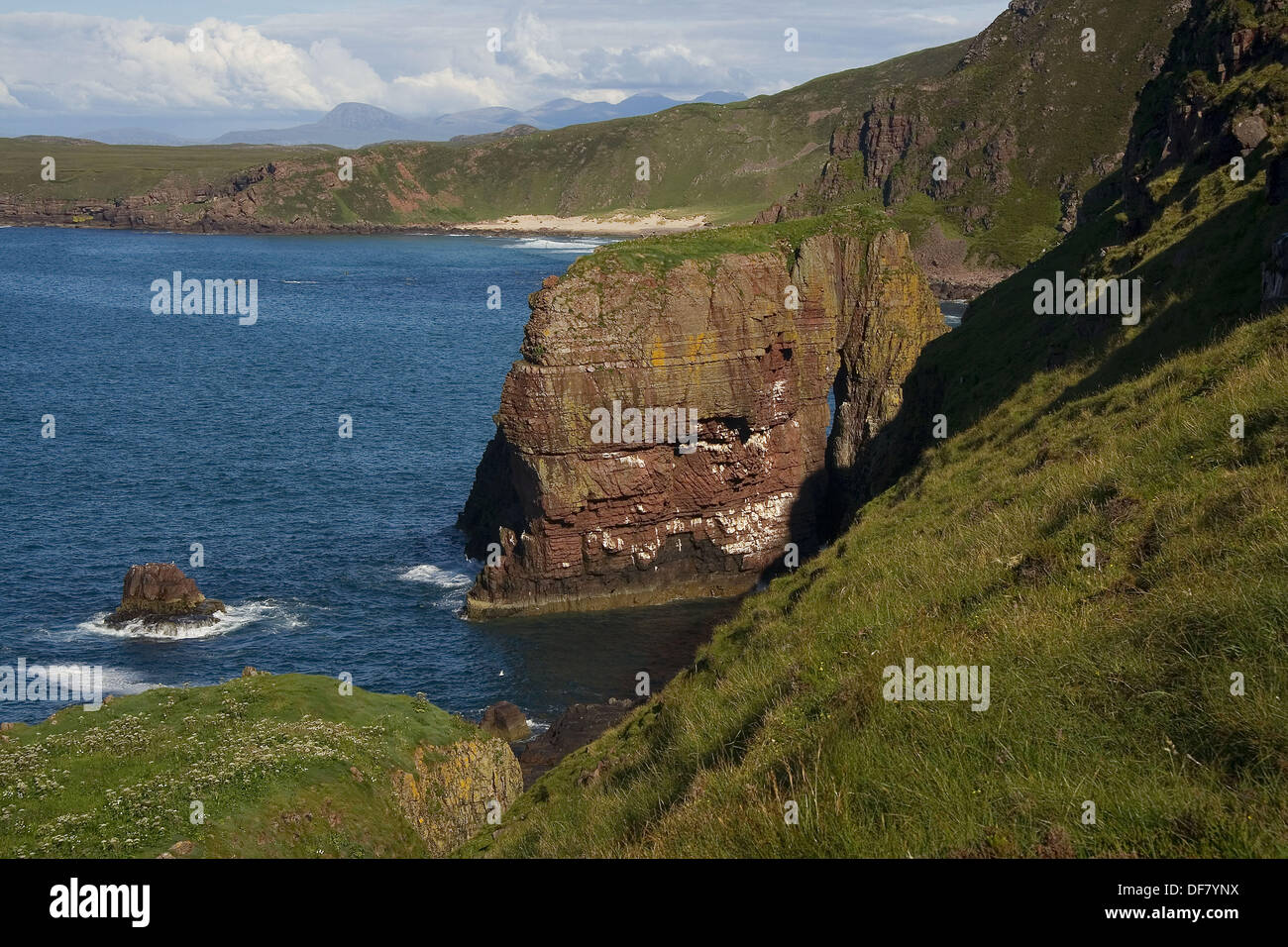Rubha Reidh, Camas Mor, Gairloch, Northwest Seaboard, Northwest Highlands, Scotland, UK - Stock Image