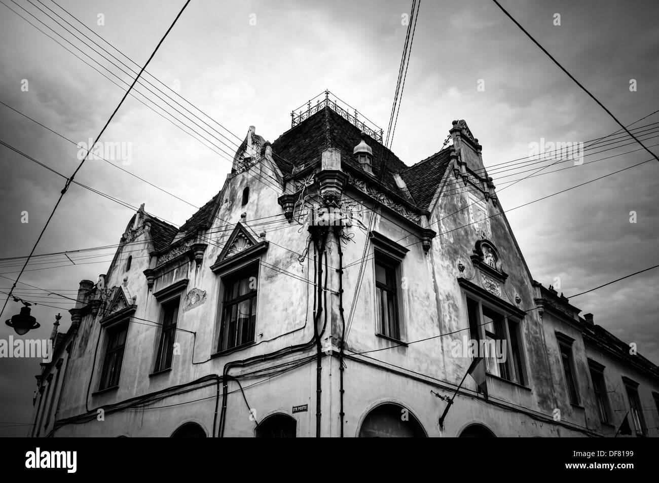 Romania, Bucharest building - Stock Image