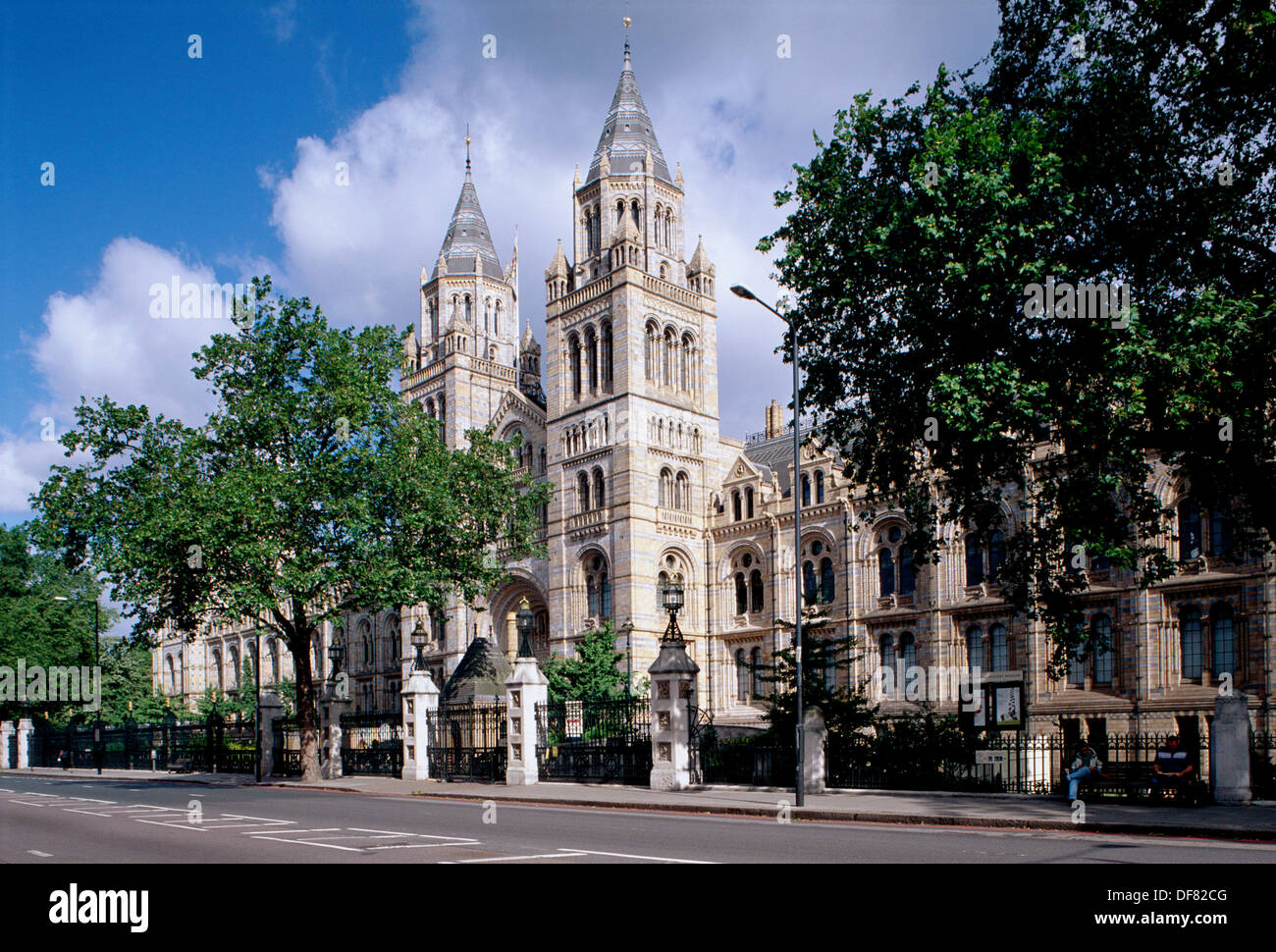 Museum of Natural History. London. England - Stock Image