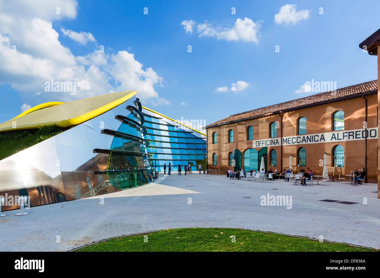 The Museo Casa Enzo Ferrari, Modena, Emilia Romagna, Italy - Stock Image