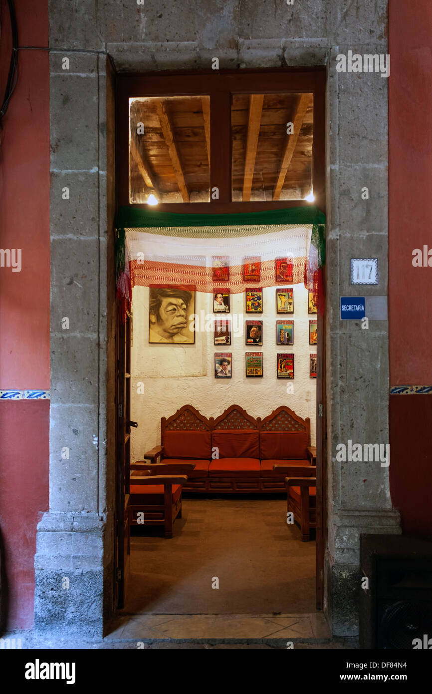 Museo de la Caricatura, Museum of Caricatures, located in Mexico City. - Stock Image