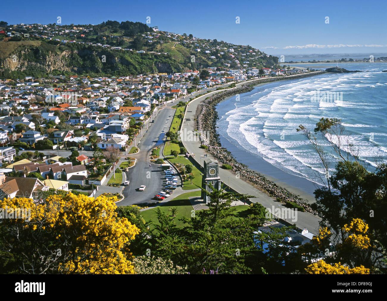 Christchurch New Zealand News: Sumner From Whitewash Head Christchurch New Zealand Stock