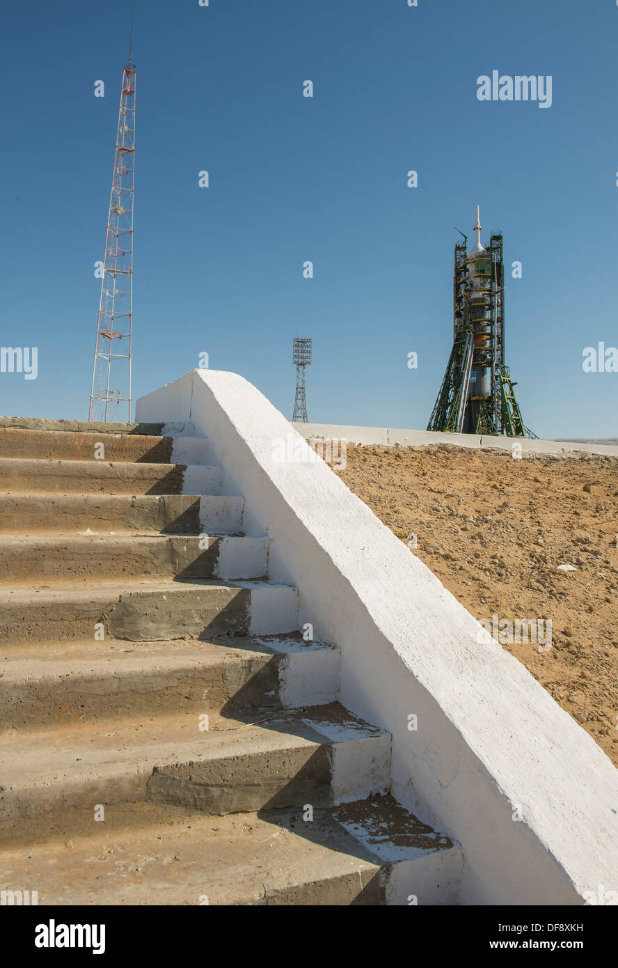 Expedition 37 Soyuz Rocket - Stock Image