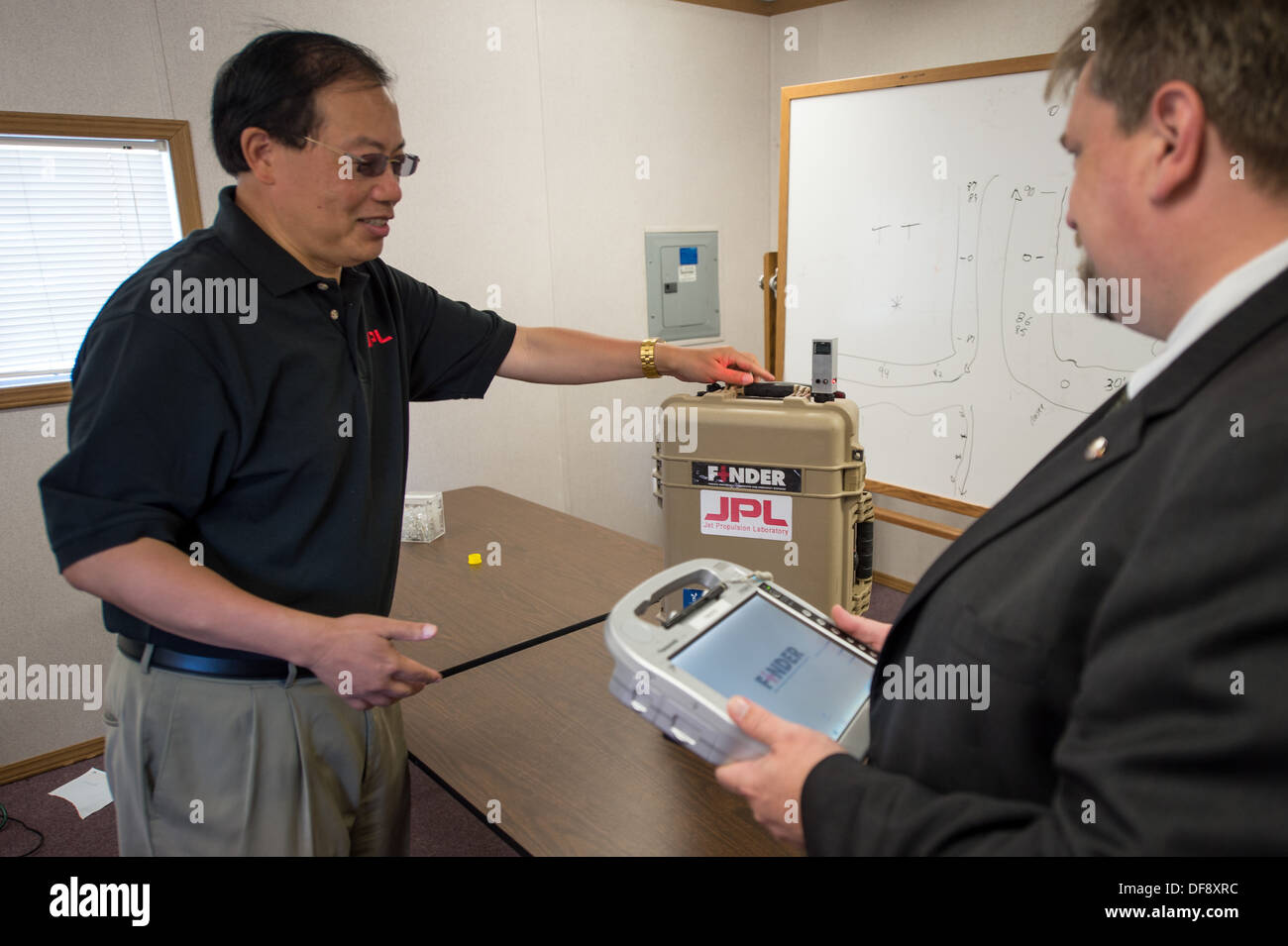 FINDER finder Finding Individuals for Disaster and Emergency Response - Stock Image