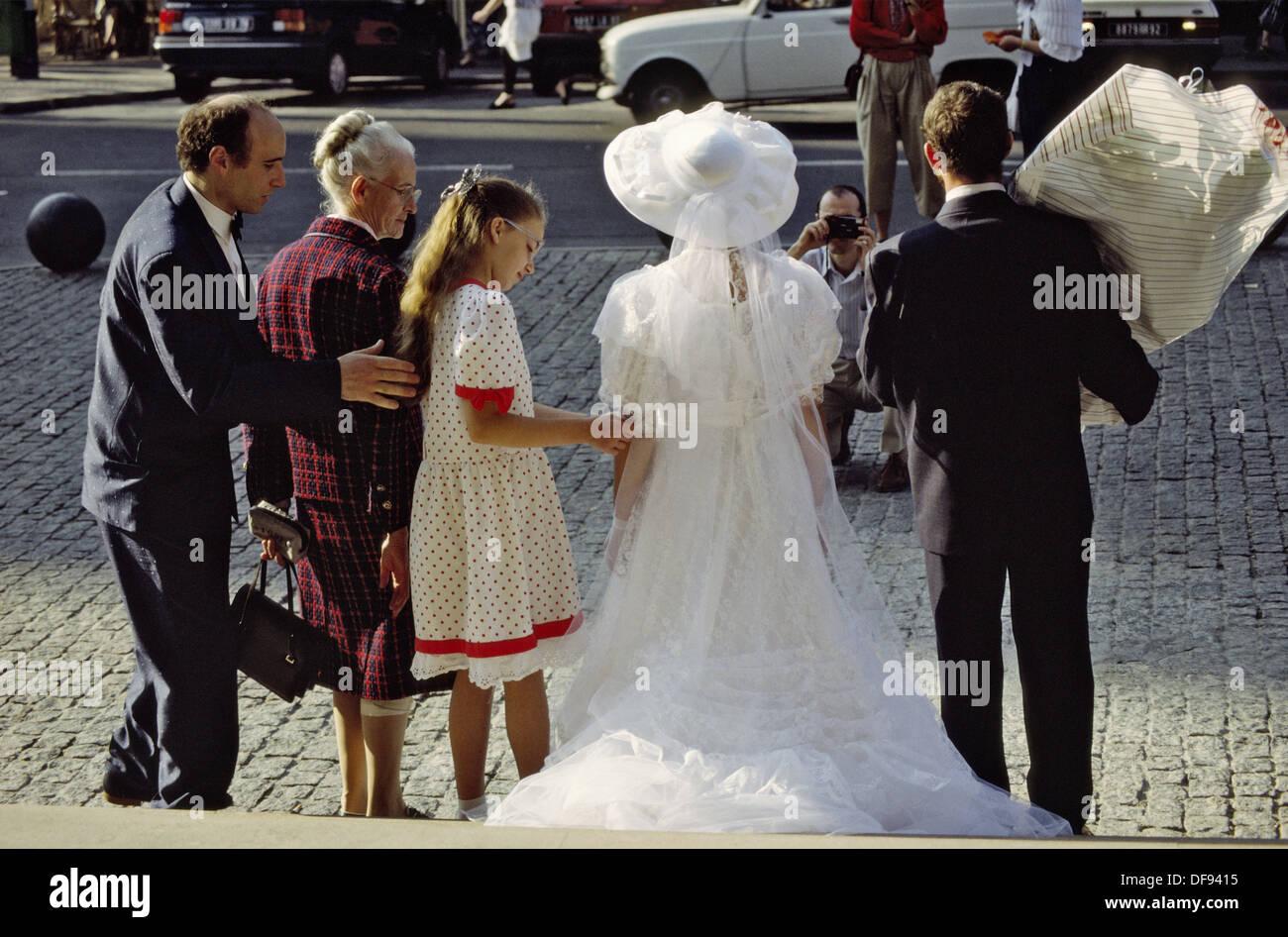 St. Denis, mariage, photography, France - Stock Image