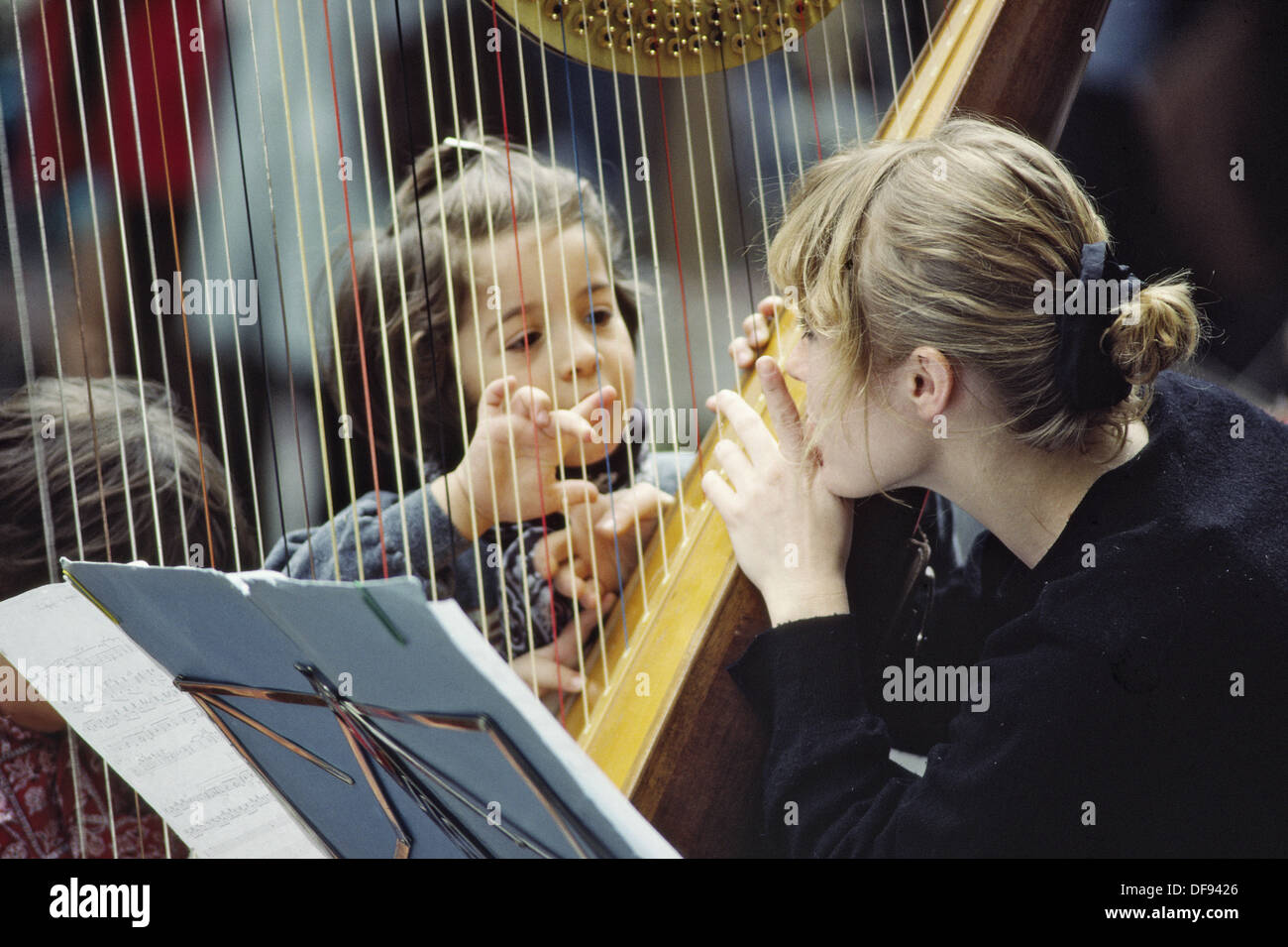 St. Germain-des-Prés, Fête de la Musique, music festival, Paris. France - Stock Image