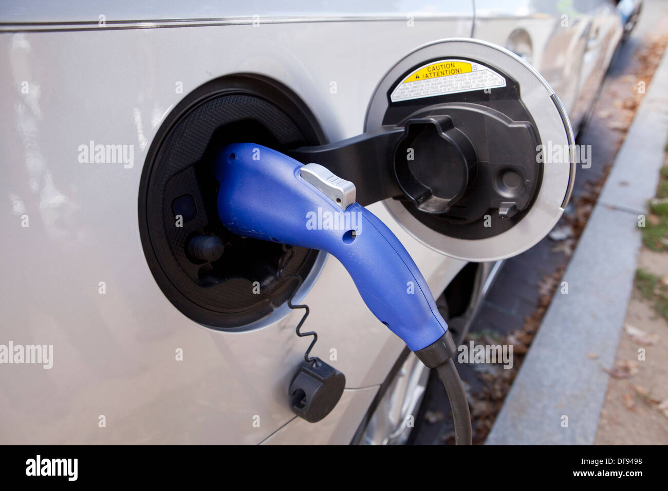 Electric car charger - Stock Image