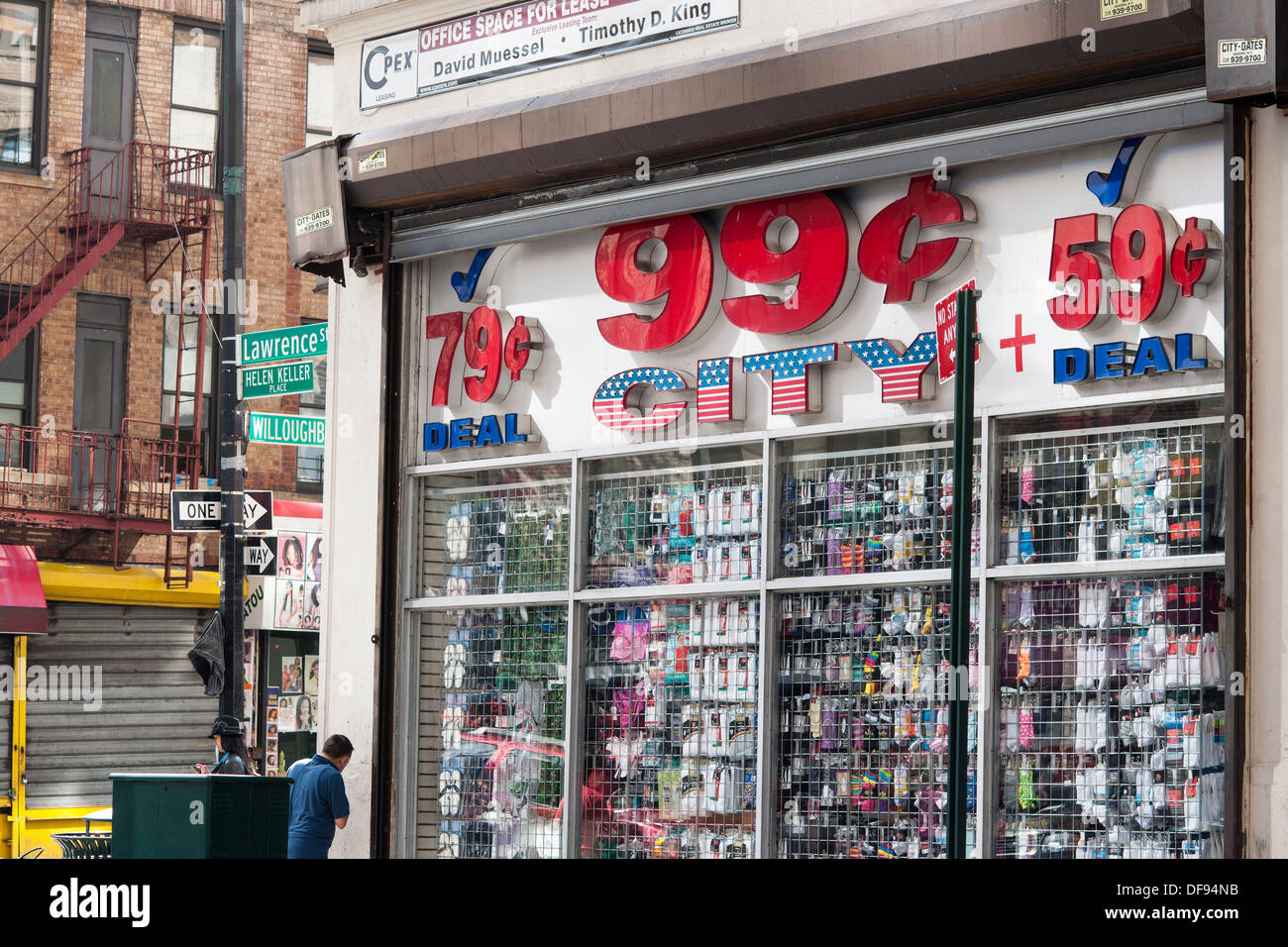 99 Cent Store In Downtown Brooklyn New York