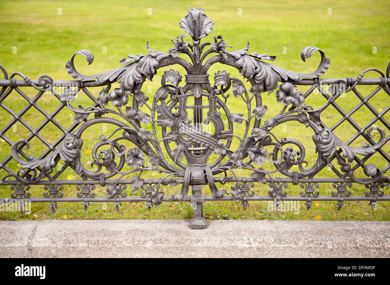 Ornamental Fence Stock Photos & Ornamental Fence Stock Images - Alamy