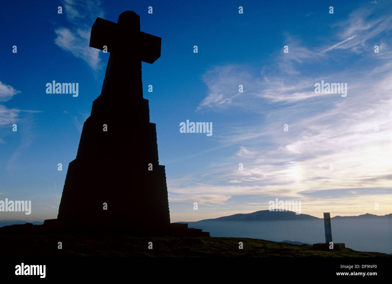 Ade Urkiola. Cima del Saibigain National Park. Vizcaya province. Spain. - Stock Image