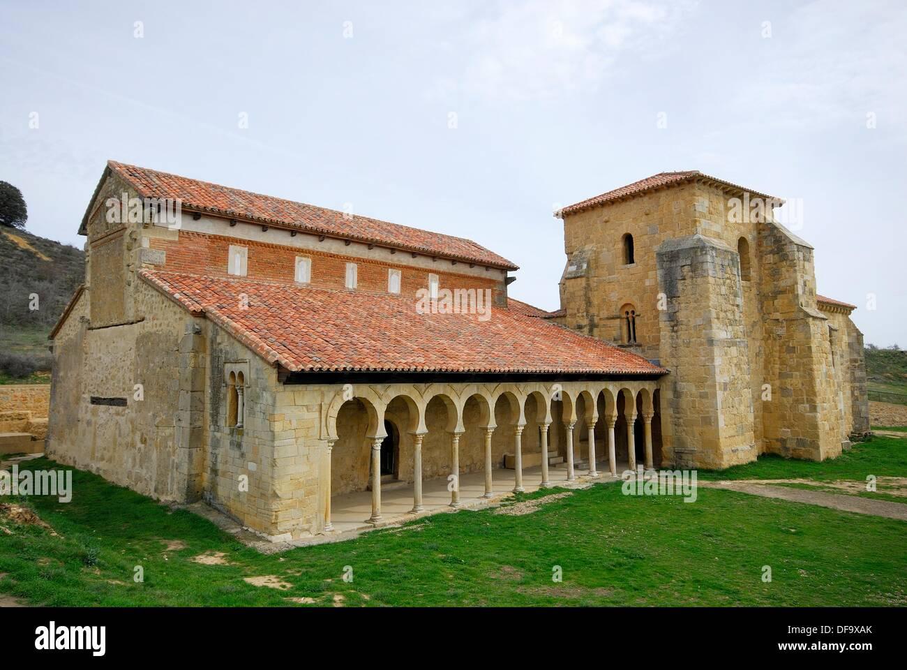 Monastery Of San Miguel De La Escalada Leon Spain Stock Photo