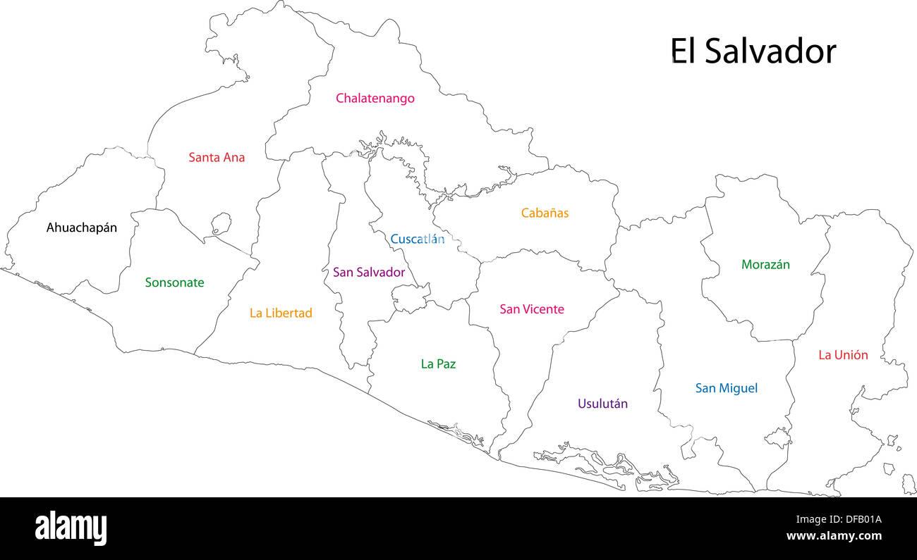 Chalatenango Map