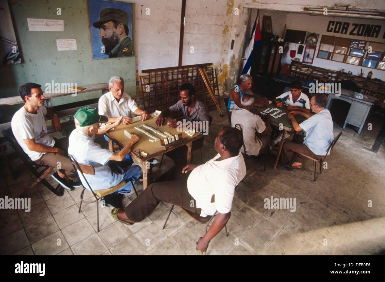 CDR (Comite de Defensa de la Revolución). Havana. Cuba - Stock Image