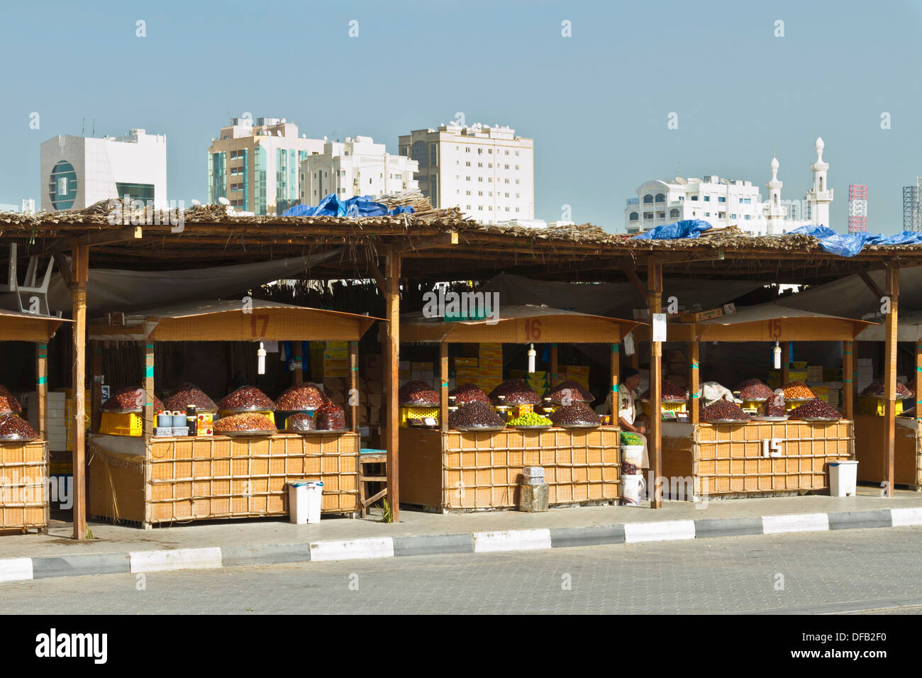 The Date Market In Sharjah Stock Photos & The Date Market In Sharjah