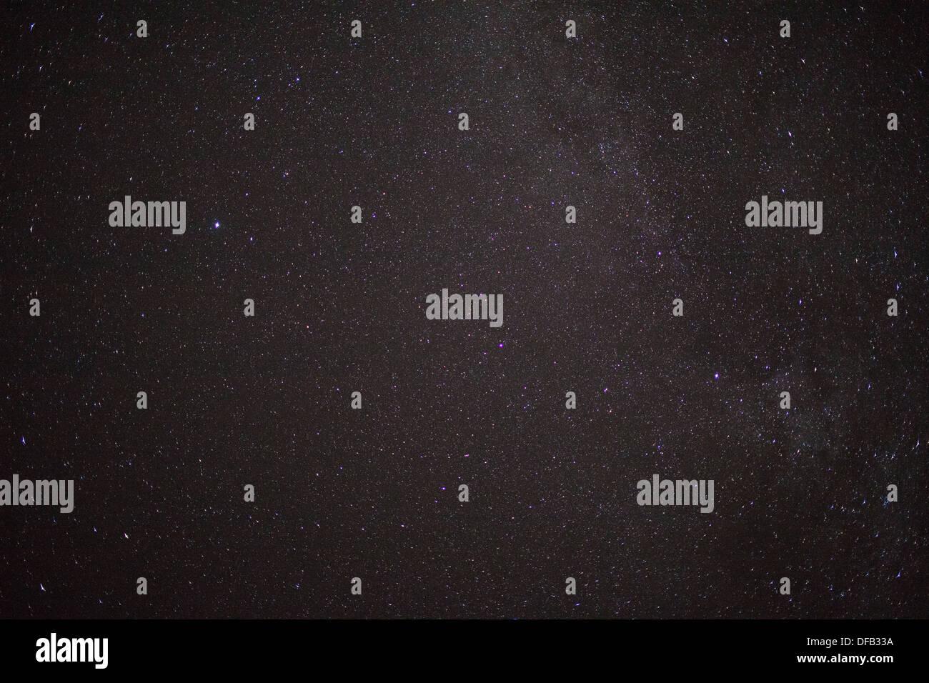 sky stars canada - Stock Image