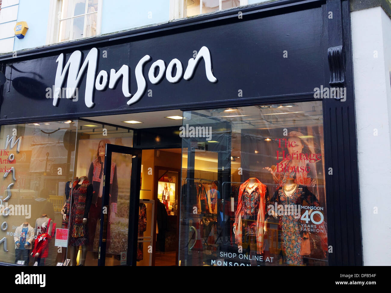 Monsoon fashion chain store, UK - Stock Image