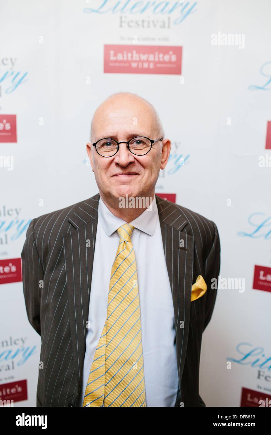 Richard Davenport-Hines Stock Photo