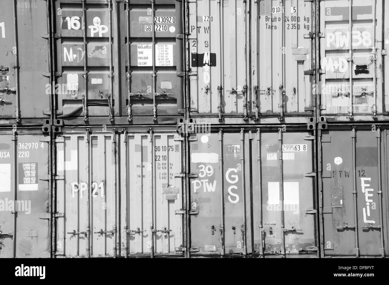 Container Transport - Stock Image