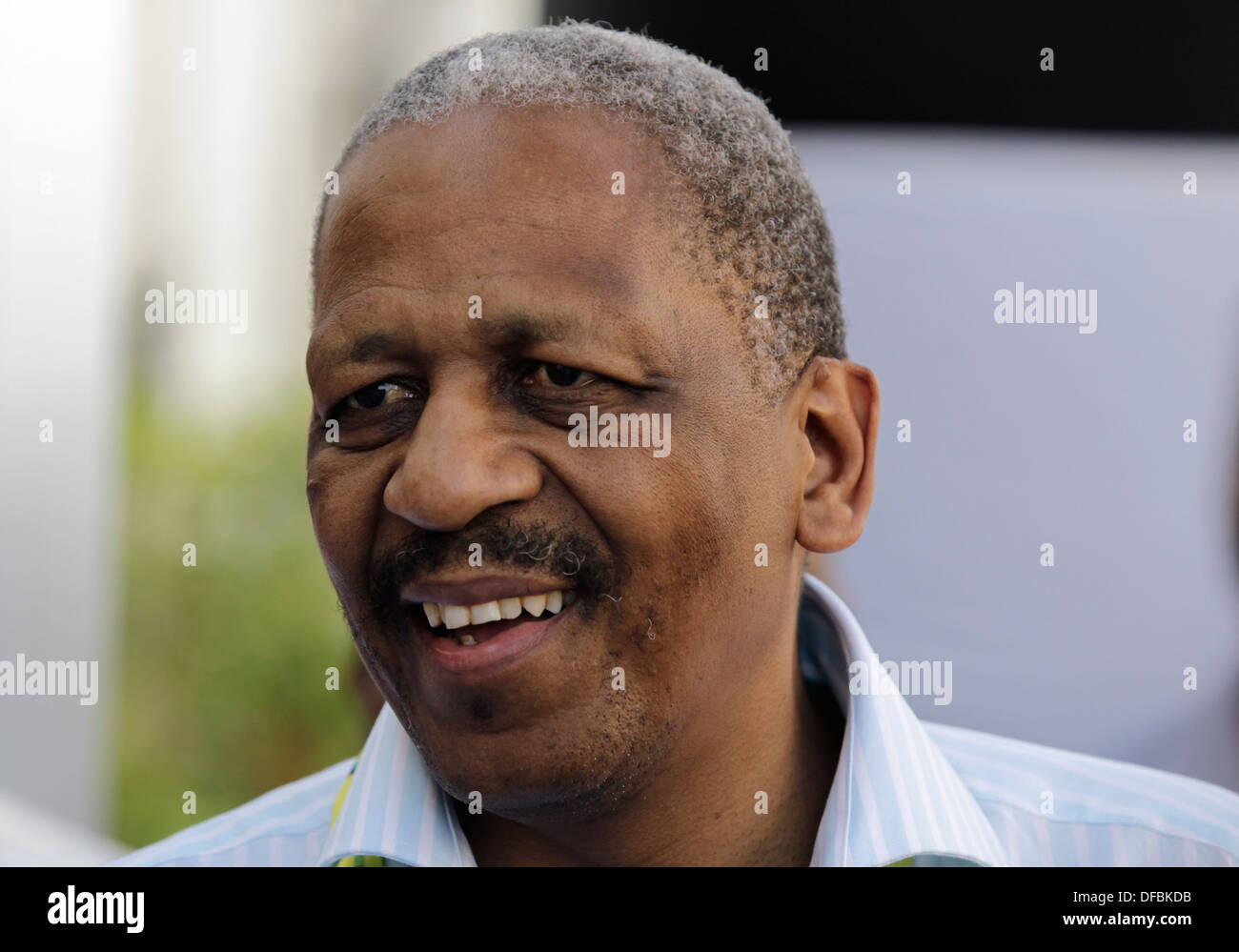 Mathews Phosa at the African National Congress (ANC) National General Council in Durban, 21 September 2010. © Rogan Ward 2010 - Stock Image