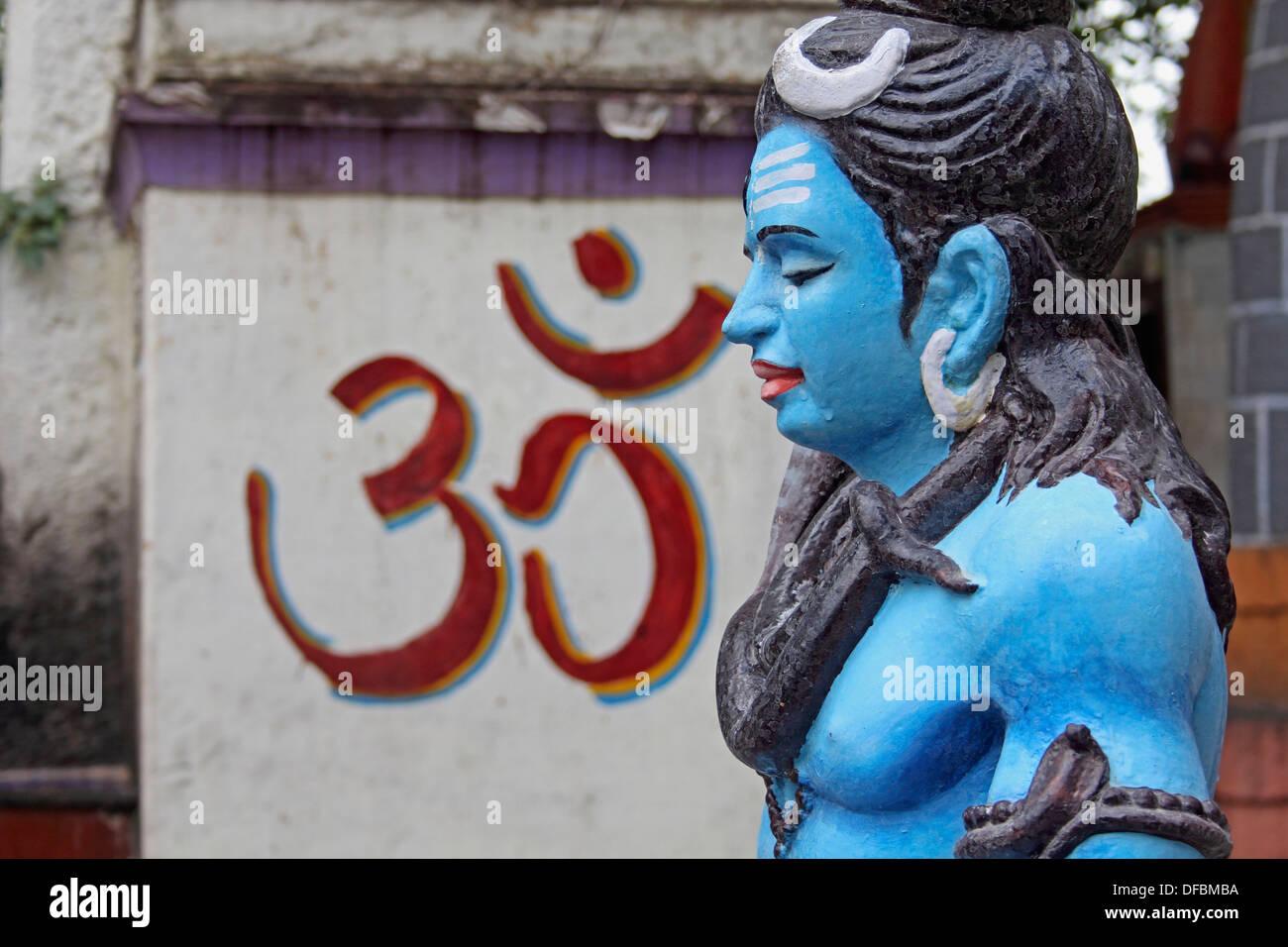 The Holy, Ancient Lord Shiva Temple, Siddheshwar Temple, Rajgurunagar, Khed - Stock Image