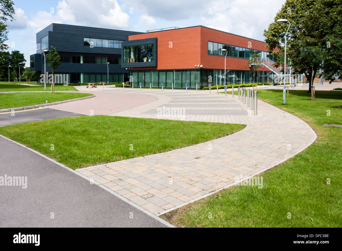 Reading Enterprise Centre at the University of Reading office and research space for innovative technology based businesses - Stock Image