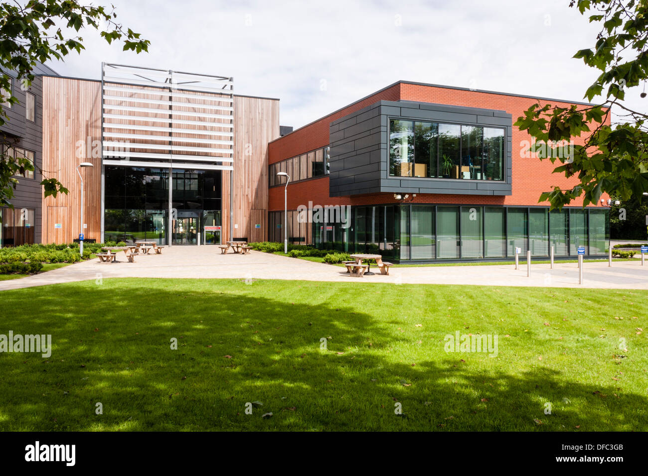 Reading Enterprise Centre at the University of Reading. Office and research space for innovative technology based businesses. - Stock Image