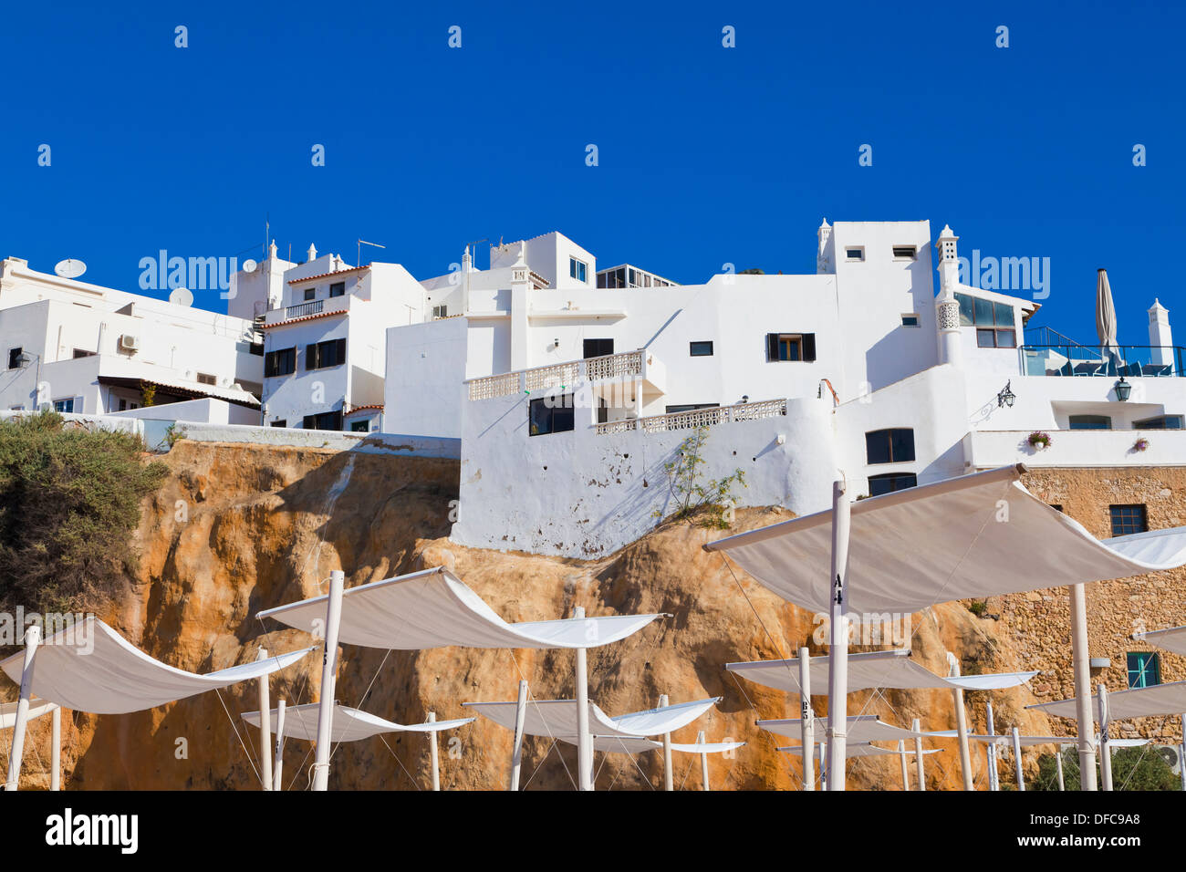 Portugal, Lagos, View of townscape - Stock Image