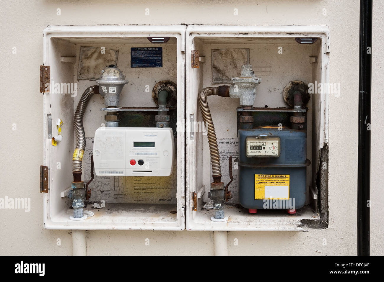 Meter Cabinet Stock Photos & Meter Cabinet Stock Images - Alamy