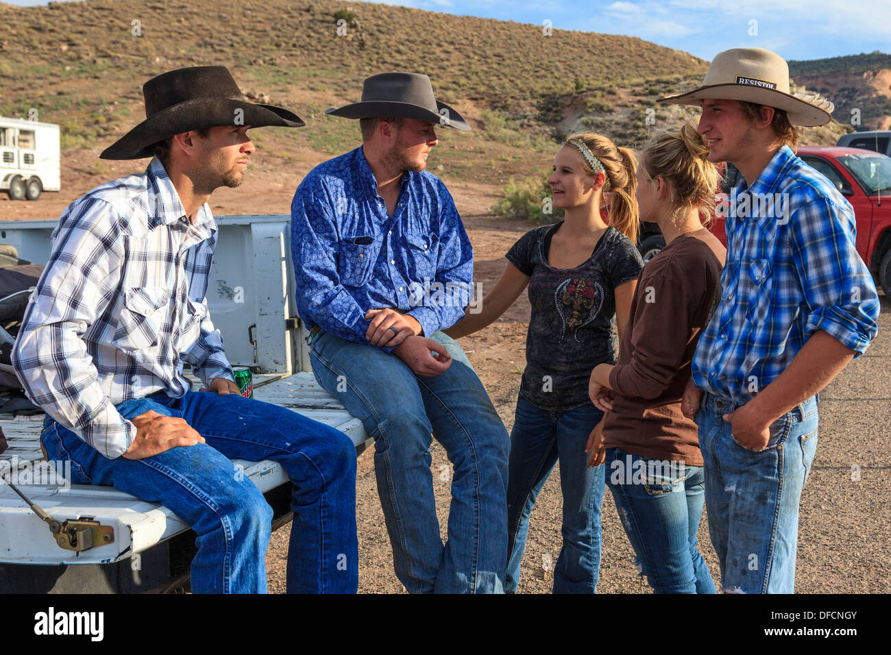 Young Cowgirls Stock Photos Amp Young Cowgirls Stock Images
