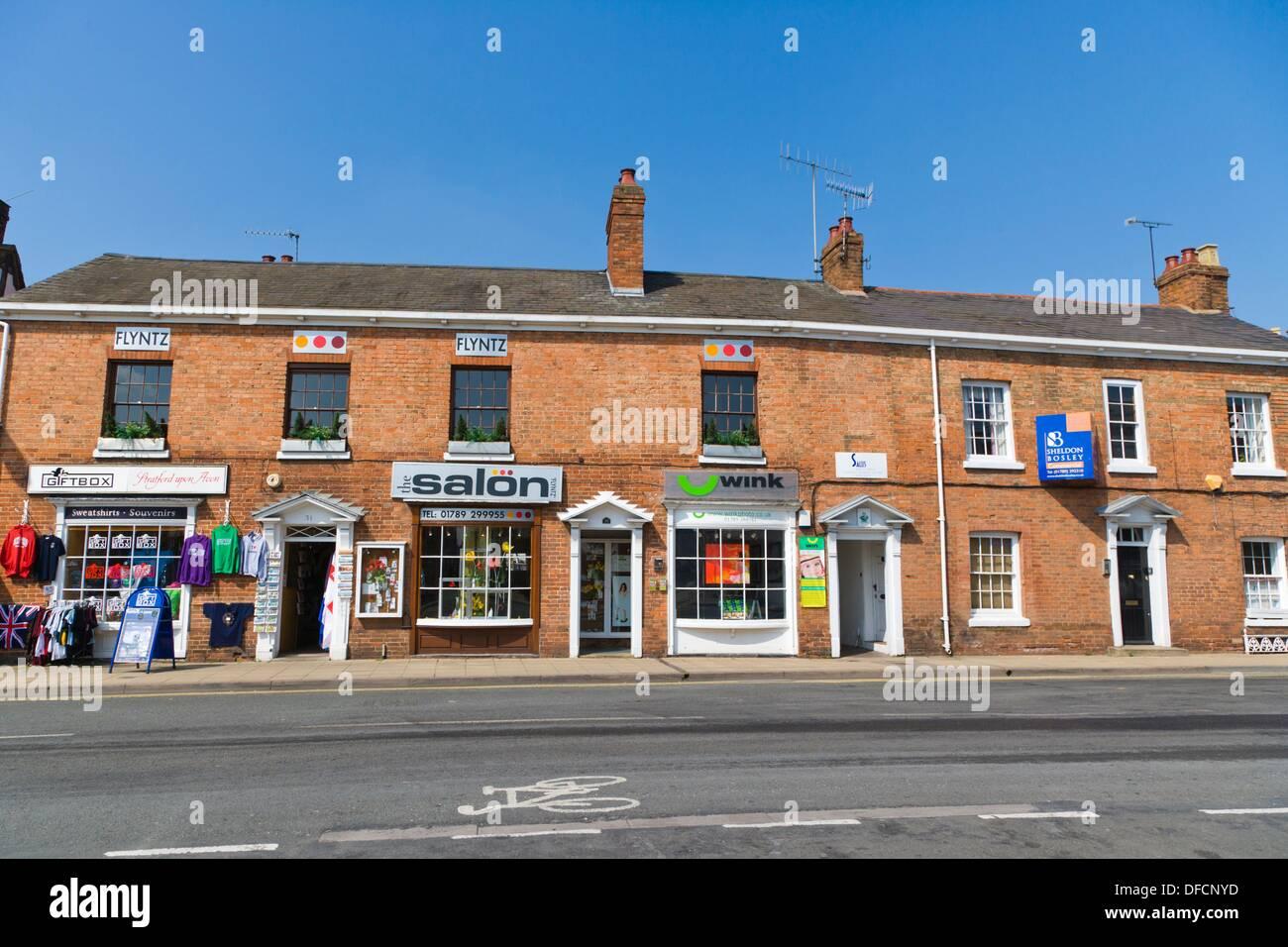 Windsor Street Stratford Upon Avon Warwickshire England UK