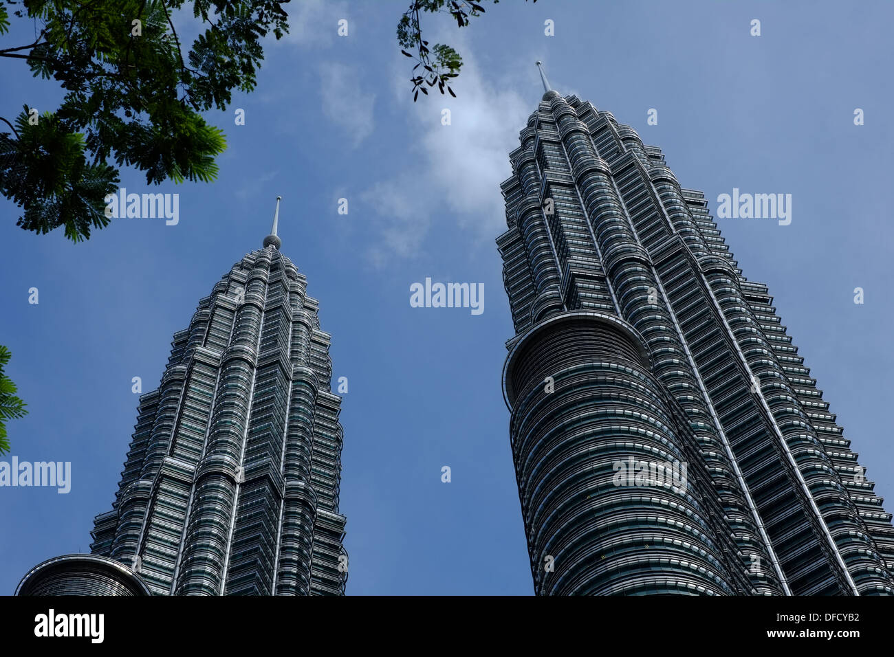 Petronas Twin Towers - Stock Image