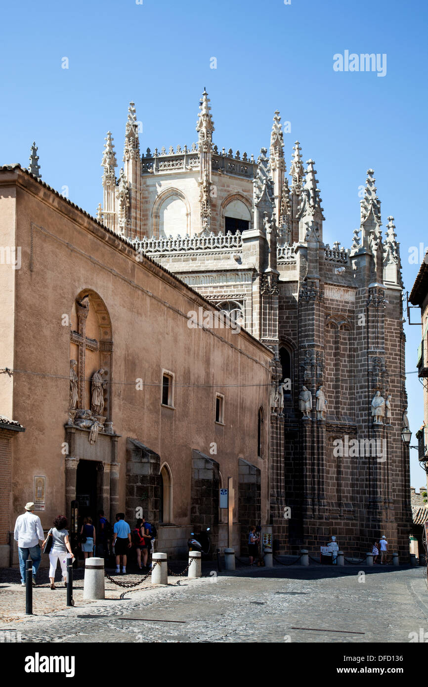 Church of San Juan de los Reyes, Toledo Spain - Stock Image