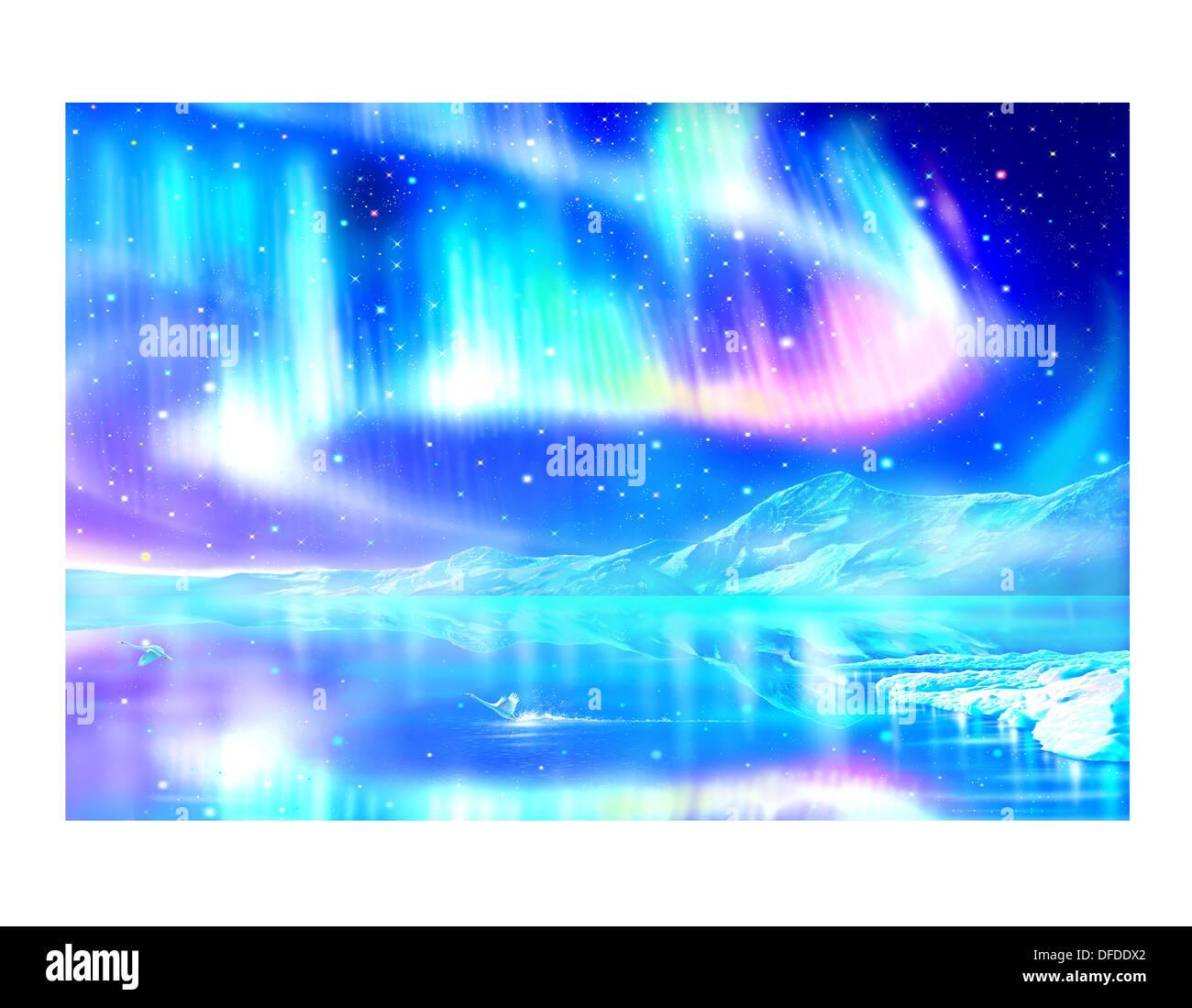 CG Illustration - Stock Image