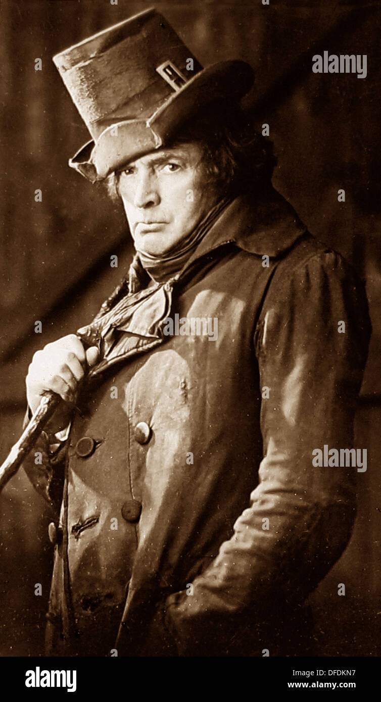 Sir John Martin-Harvey - actor - Victorian period - Stock Image