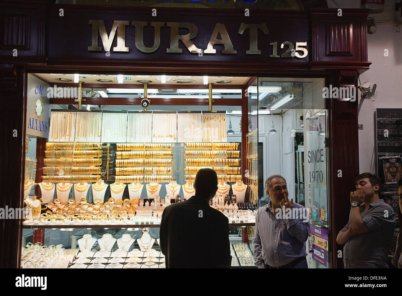 Gold Market Grand Bazaar Istanbul Stock Photos Gold Market Grand