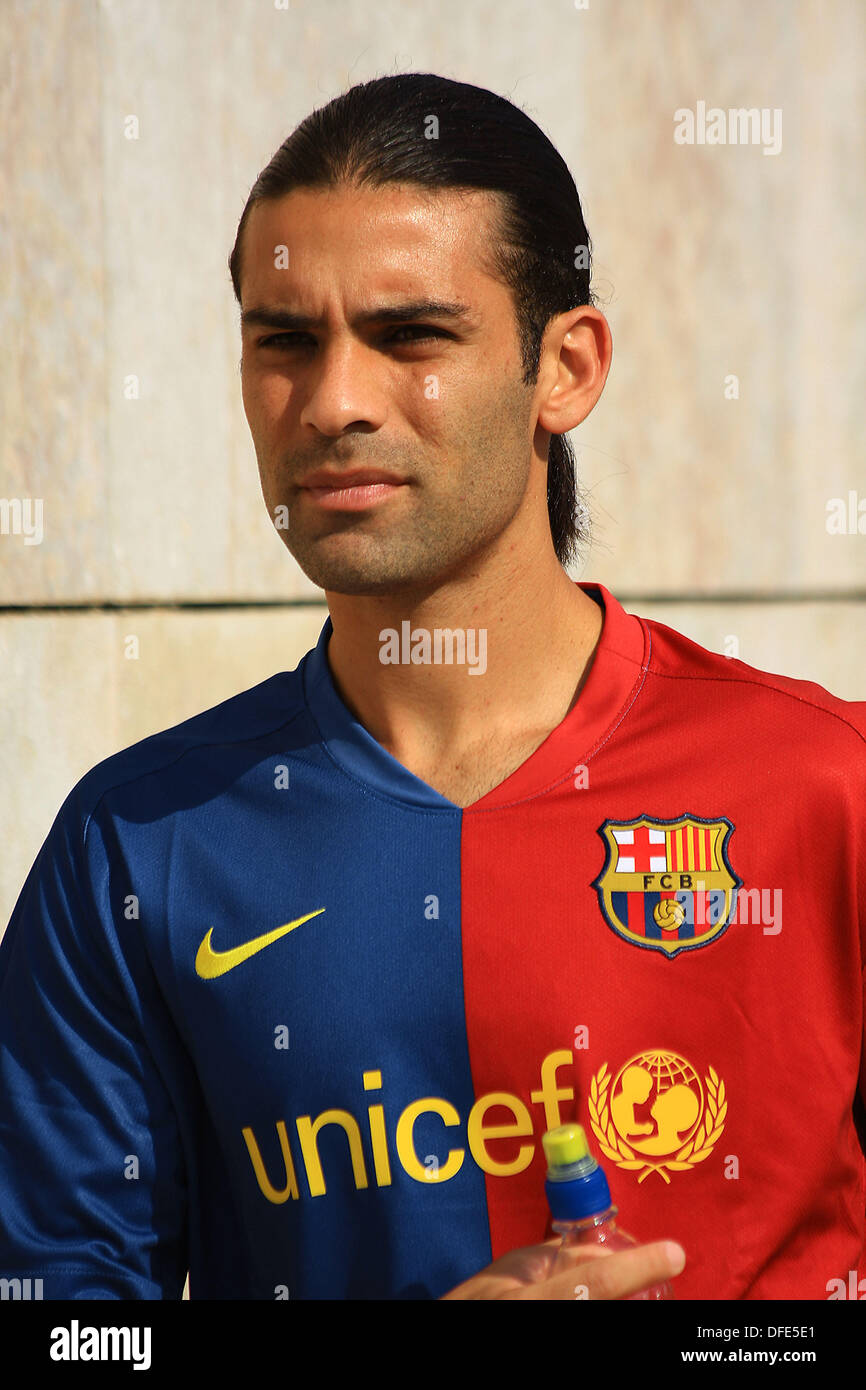 online store 238b2 58557 Rafa Márquez, Mexican footballer playing for FC Barcelona in ...