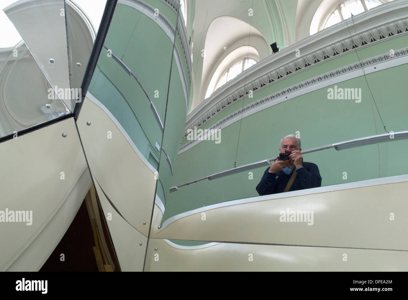 Jota Castro,2011, mixed media, dimensions variable. Dublin Contemporary. City of Dublin capital. Ireland Eire. - Stock Image