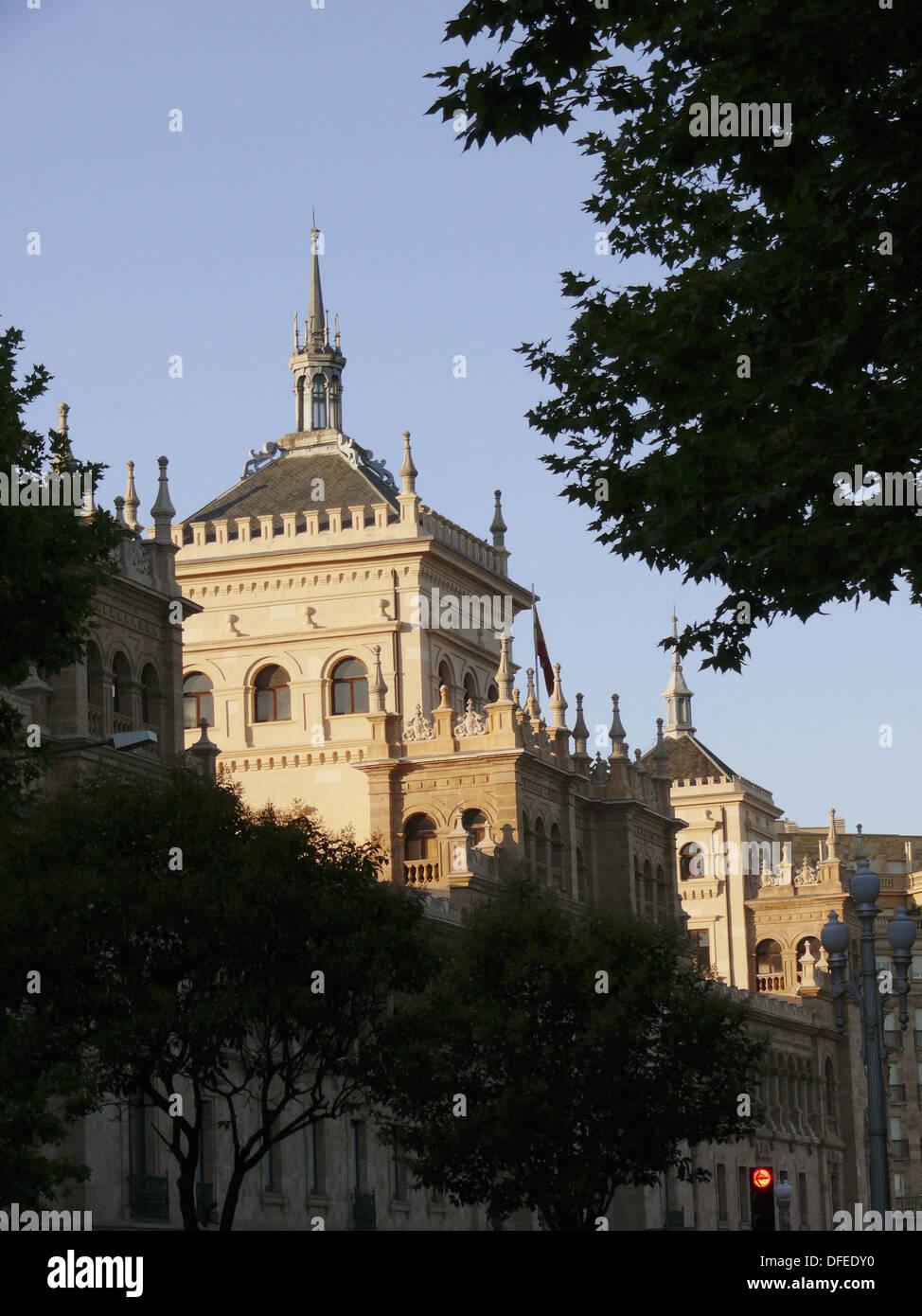 Academia de Caballería, Valladolid. Castilla-Leon, Spain - Stock Image