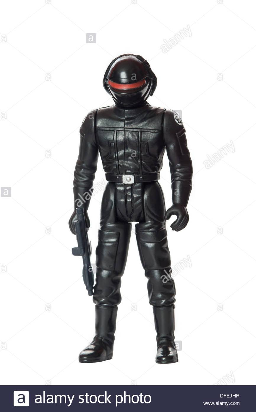 Original Star Wars action figure : Death Star Gunner - Stock Image
