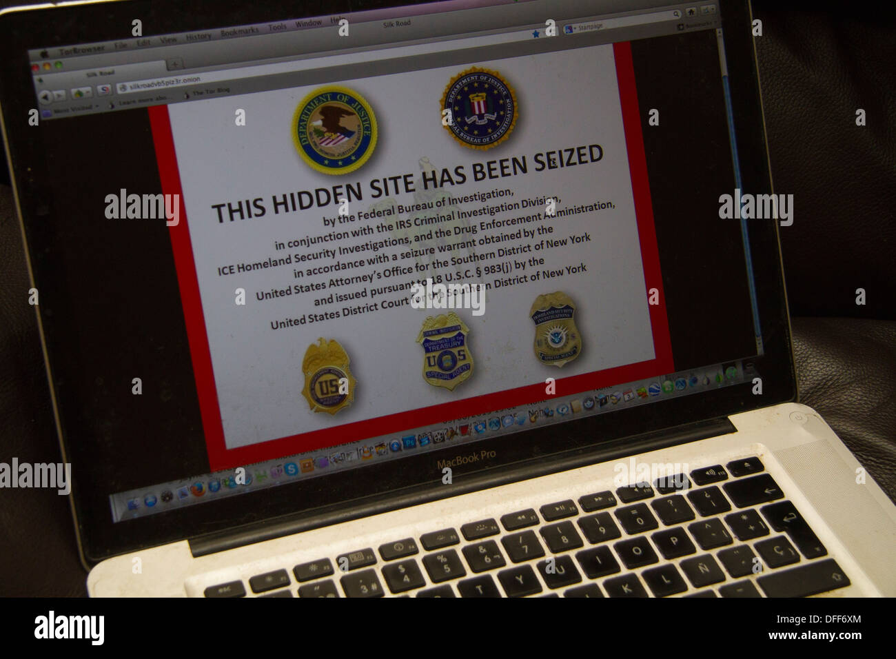 Fbi Silk Road Dark Web Stock Photos & Fbi Silk Road Dark Web