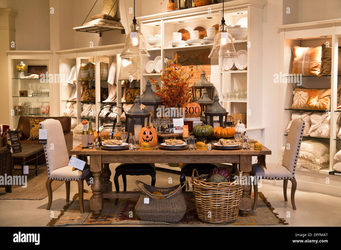 Home Decor For Sale: Pottery Barn Display Things For Sale Store Decorations