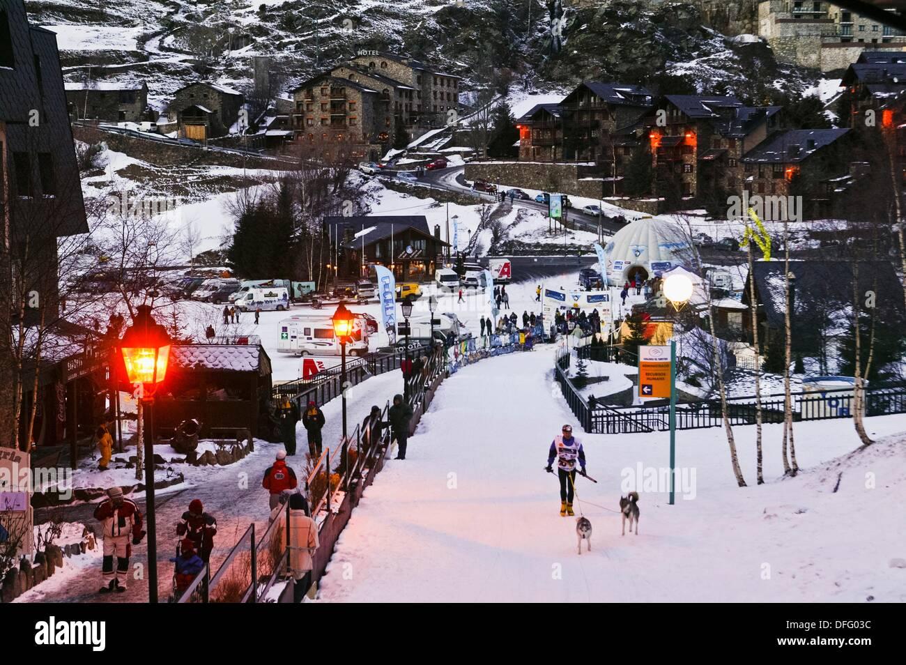 grand valira ski resort station el tarter development canillo stock