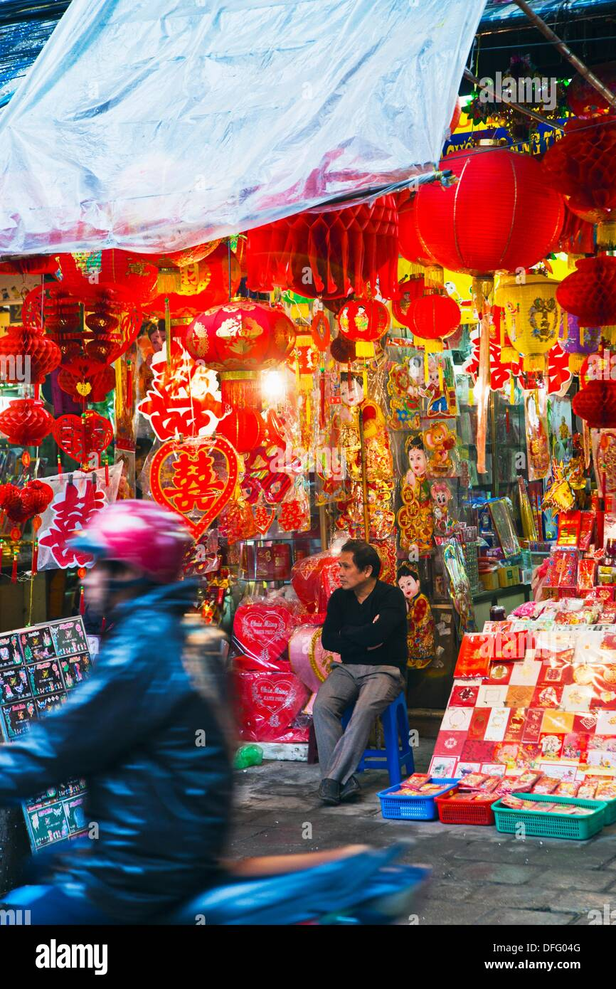 Hang Ma Street  Old City. Hanoi. Vietnam. - Stock Image