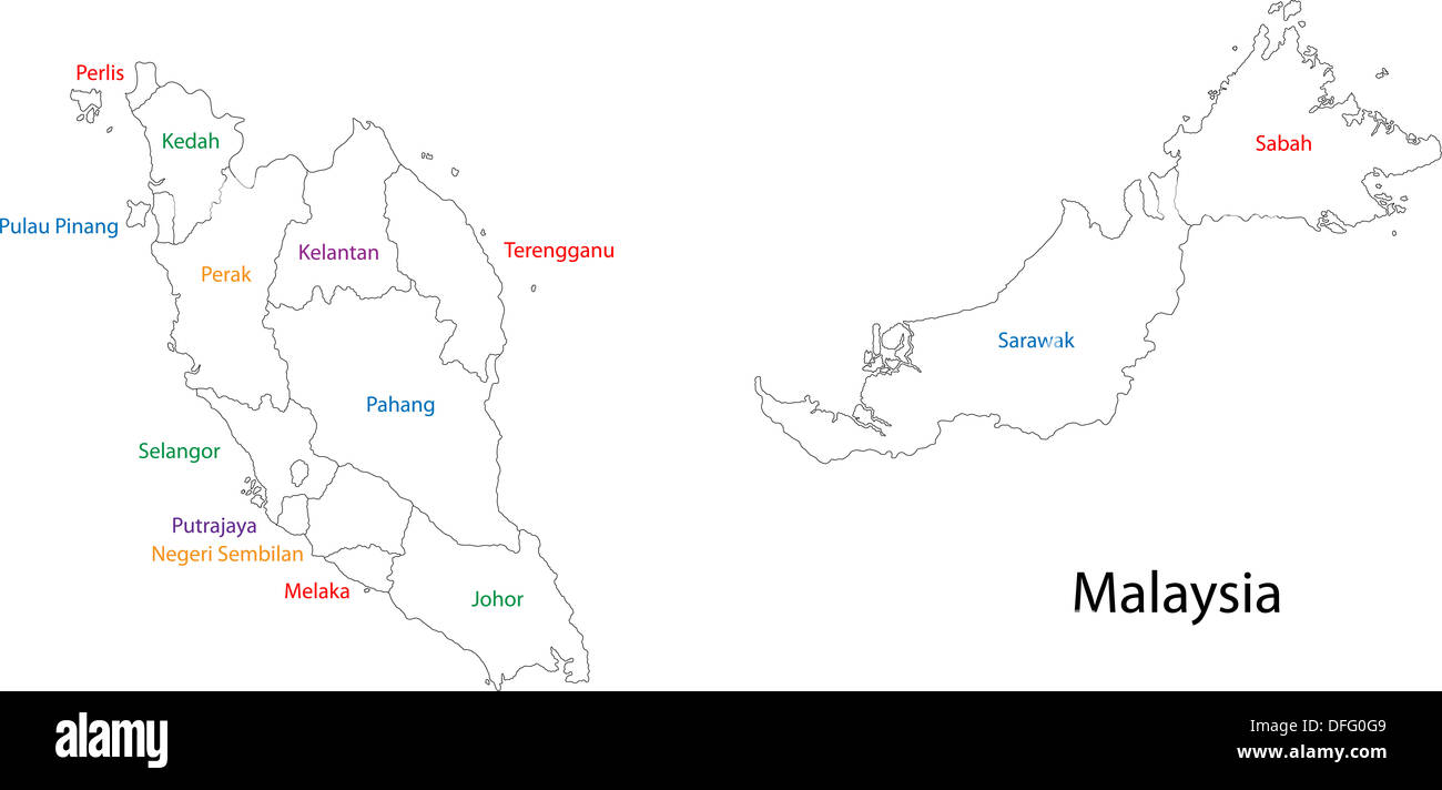 Southeast Asia Map Stock Photos Southeast Asia Map Stock Images