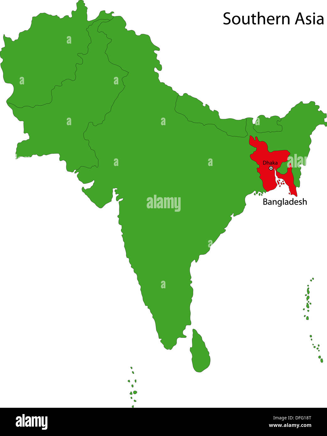Picture of: Bangladesh Map High Resolution Stock Photography And Images Alamy