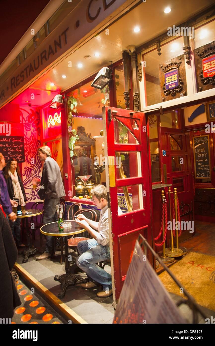 Archangel Bar & Nightclub  High Street Kensington  London  England  United Kingdom  UK. - Stock Image