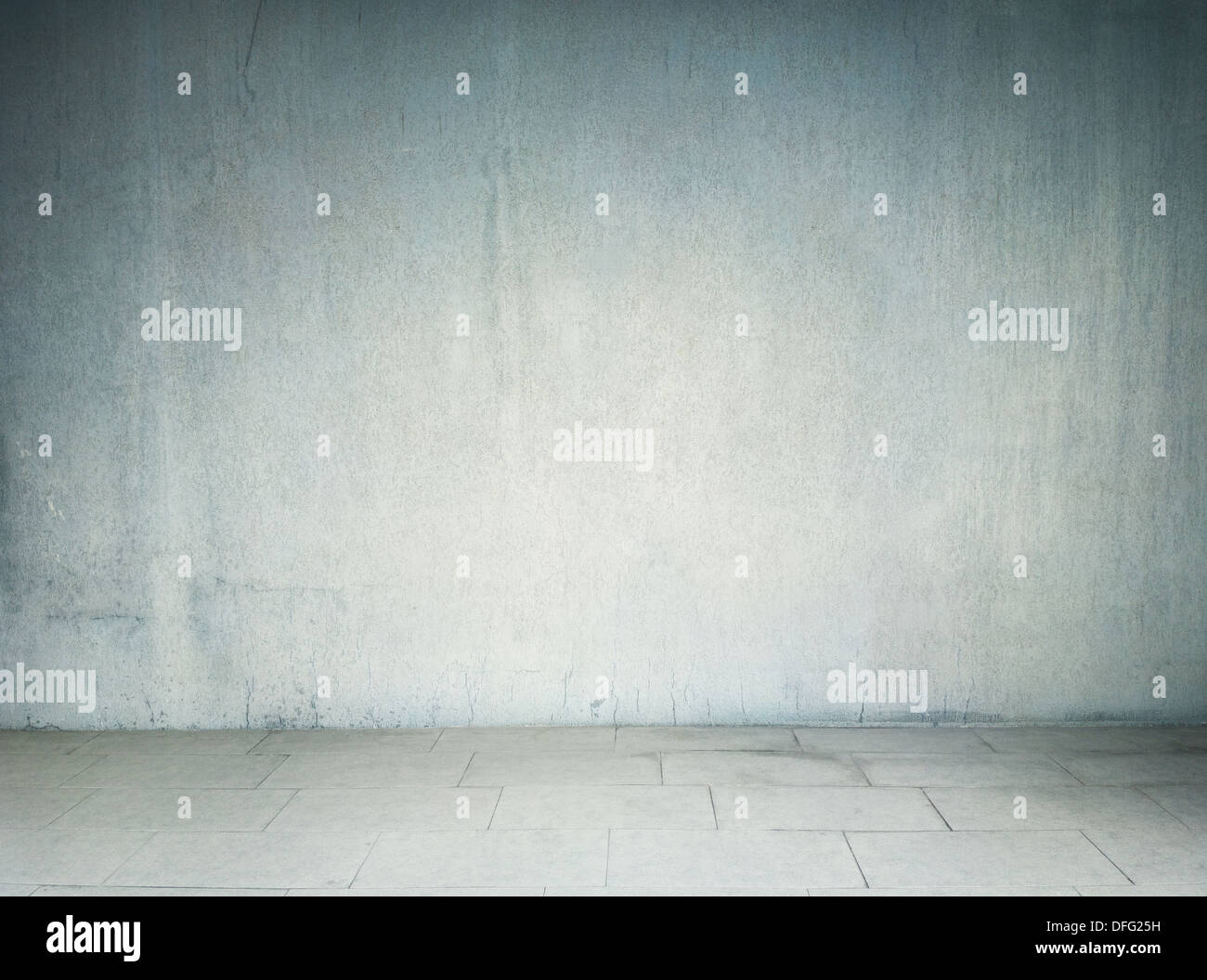 Concrete wall background, texture - Stock Image