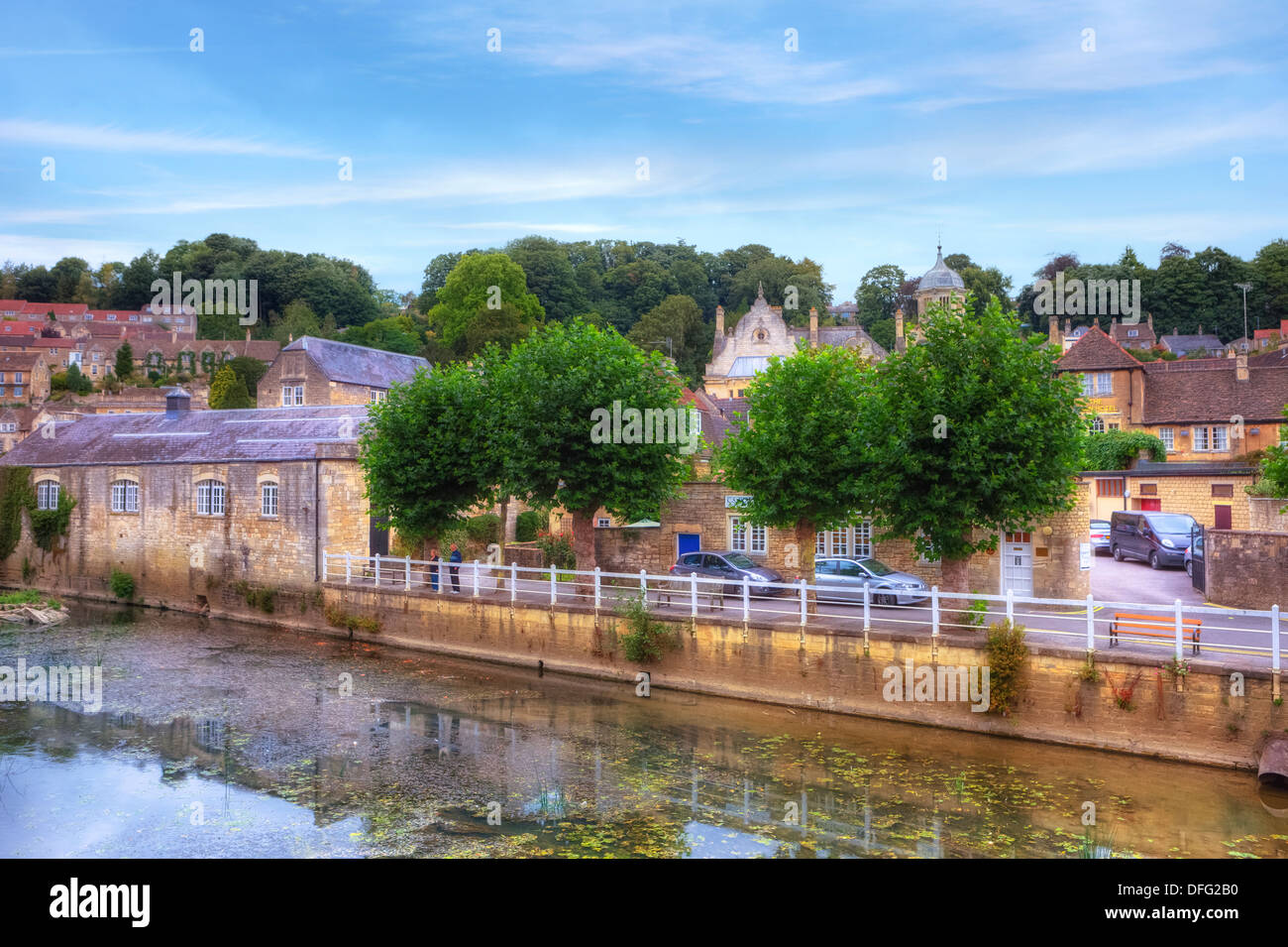 Bradford on Avon, Wiltshire, England, United Kingdom - Stock Image