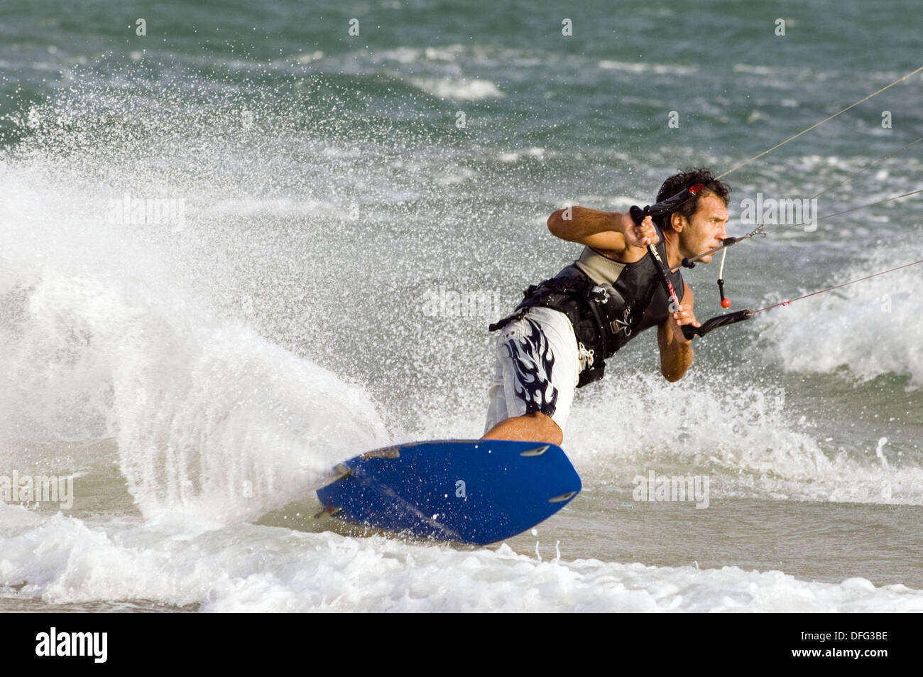 Kiteboarding - Stock Image